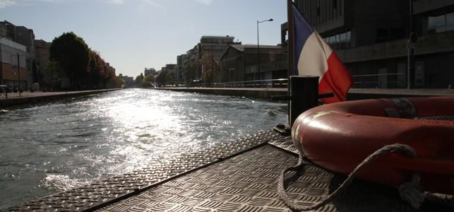Bande Originale 2014, un parcours sur et autour du canal de l'Ourcq. © Stefano Lanini